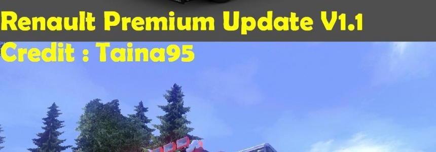 Renault Premium Update V1.1