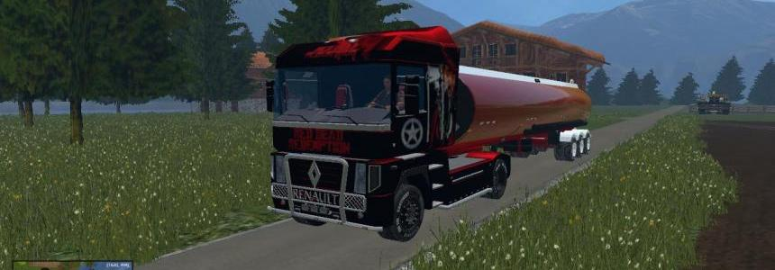Renault Magnum RED DEAD REDEMPTION zorlac version