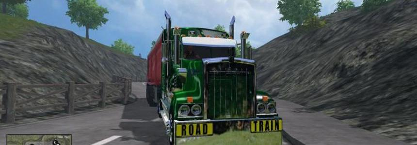 Road Train Signs v1