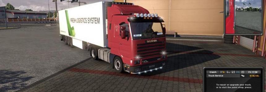 Scania 143m Mod v1.0