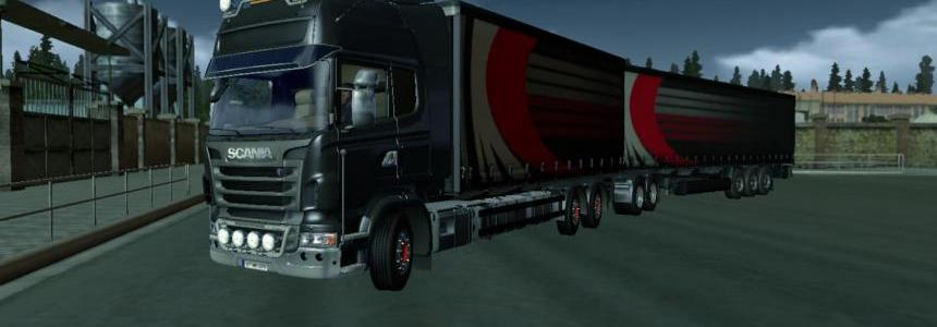 Scania B Double with Sound & Engine by MasterMods 1.14.X