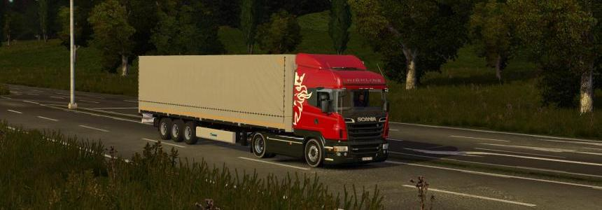 Scania Highline+KroneSDP27 Standalone