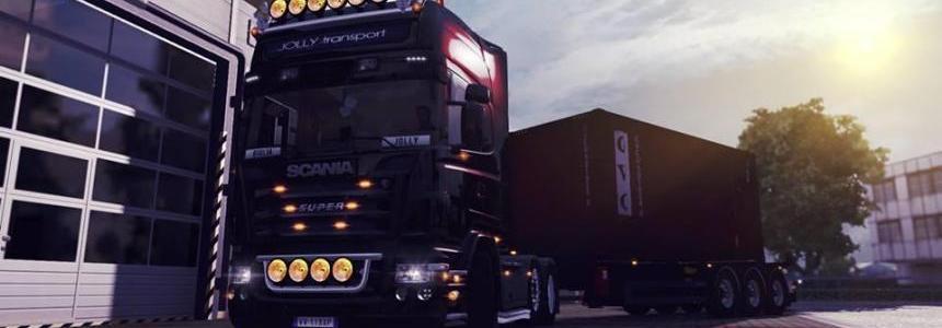 Scania R Black class Mod V1.0