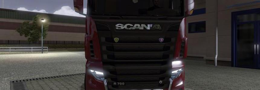 Scania R700 Lux v1.1