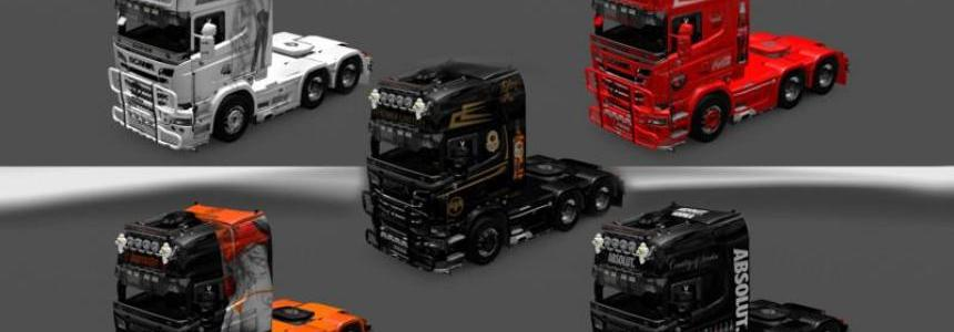 Scania Skins Pack v1.15
