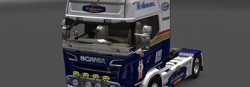 Scania Streamline Rothmans Skin