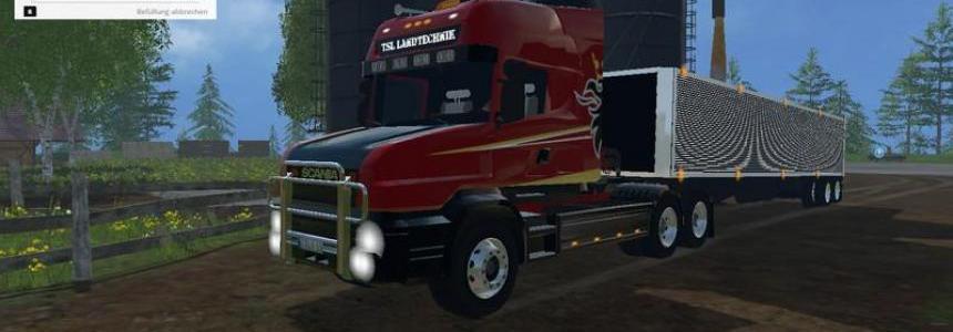 Scania T164 3 axles v1.0