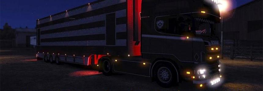 Scania V8 sound mod update 7.1 for patch 1.15