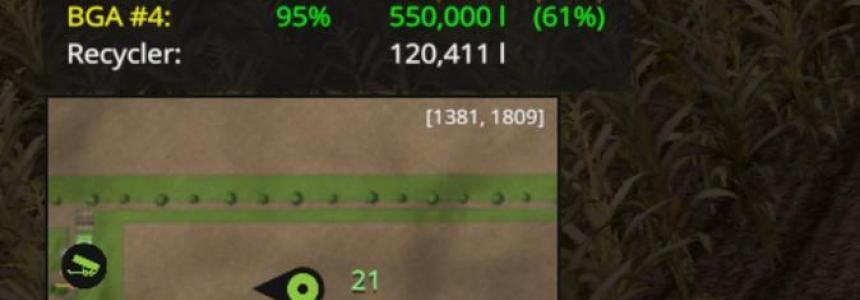 Silage Bunker HUD v1.0