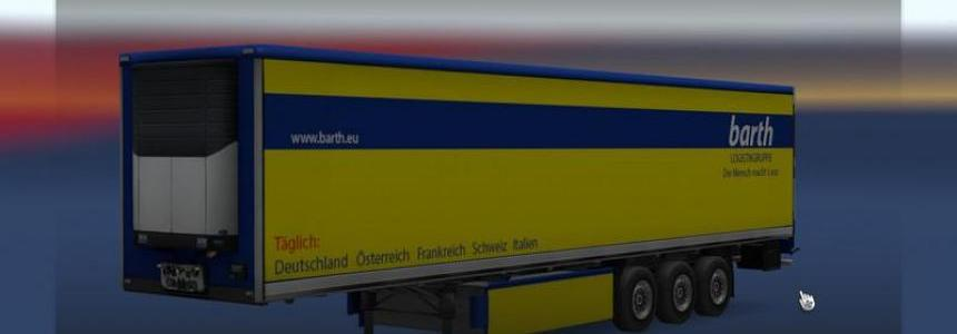 Spedition Barth Trailer v1.0