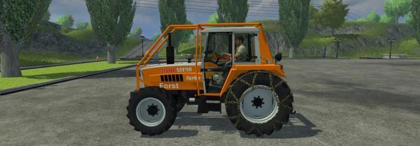 Steyr 8110A Turbo SK2 Forestry v1.0