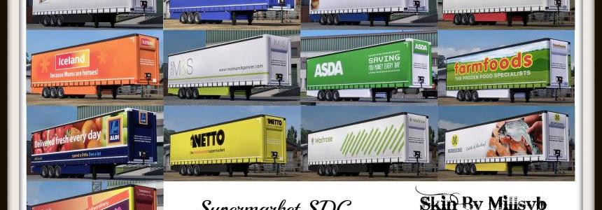 Supermarket Trailers Skin Pack v1.0