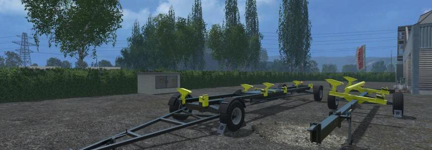 Thuringer Agrar Header Trailers with Locking Script