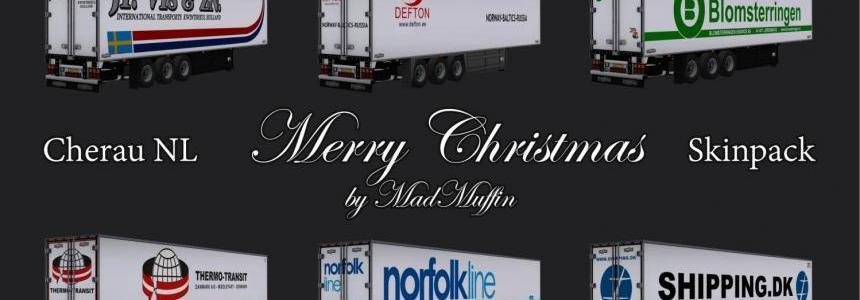 Trailer NL MERRY CHRISTMAS Skinpack