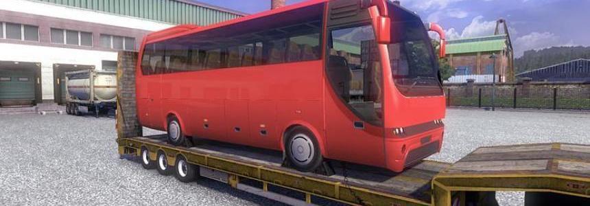 Trailer Overweight bus opaline v2.6