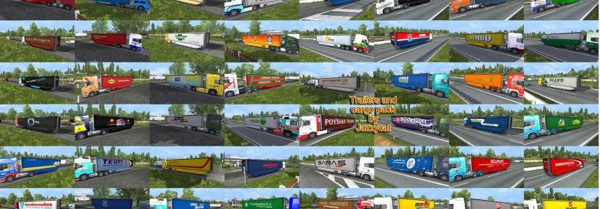 Trailers and cargo pack by Jazzycat  v3.0