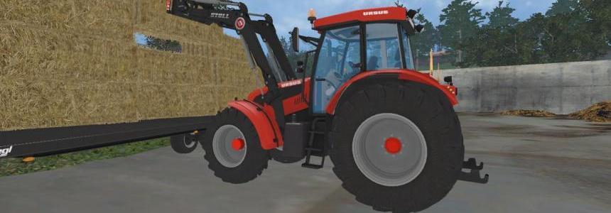 Ursus 15014 with front loader