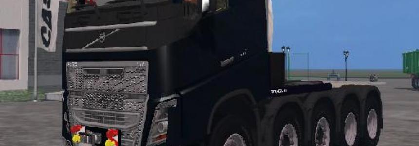 Volvo 5 axle with Fronttowbar v1.0