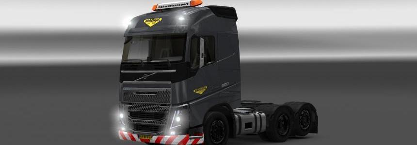 Volvo FH 2012/ 2013 Broshuis Skin