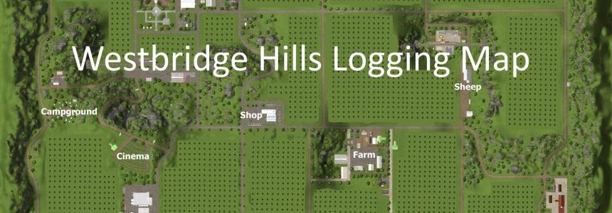 Westbridge Hills Logging Map