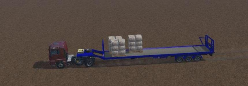 Wool Transporter Trailer FS 2015