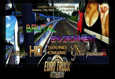 Brutal Environment HD + Sound engine Gold Premium