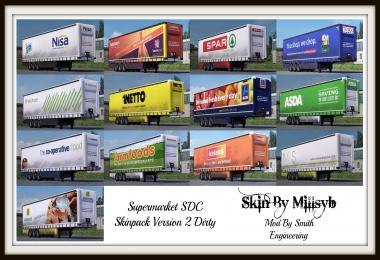 Supermarket Trailers Skin Pack (Dirty) v2.0