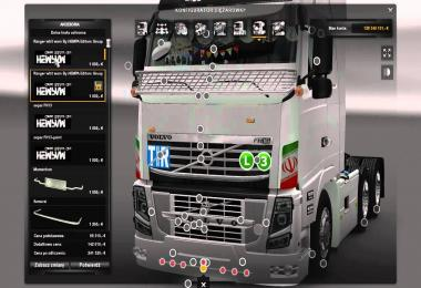 Volvo FH Iranian Style Tuning