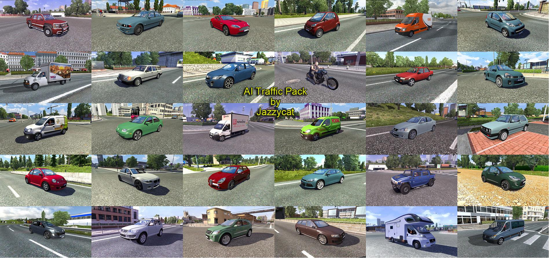 AI Traffic Pack by Jazzycat v2 1 - Modhub us