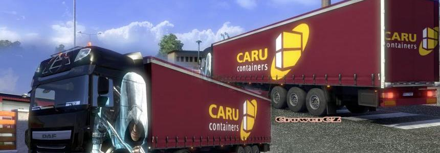 Caru Containers (Purple) Trailer