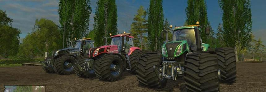 NEW HOLLAND T8320 EVOXTREME v1.12 PACK 2