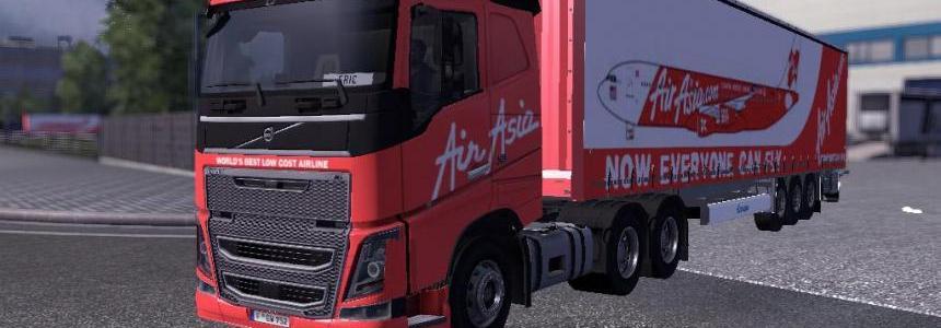 Volvo FH 2012 AirAsia v1.0
