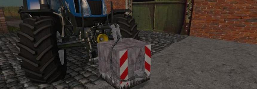 850KG Concrete Weight v1.0