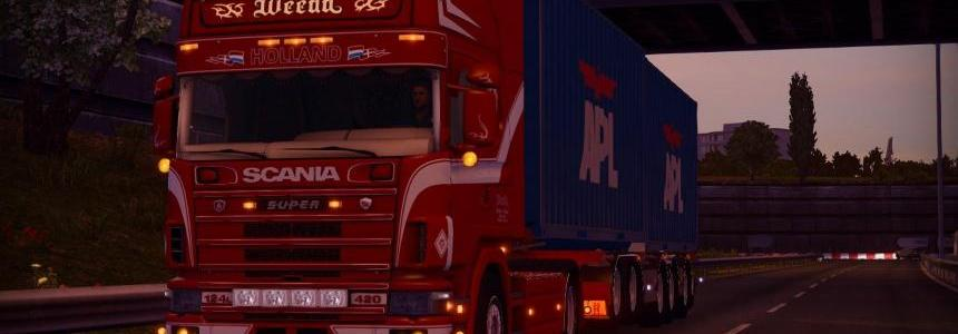 Scania 124L Weeda
