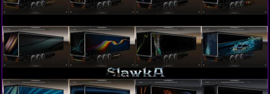 Abstract Trailers Skin Pack
