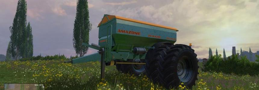 Amazone SGB8200 Twin Wheels v1.0