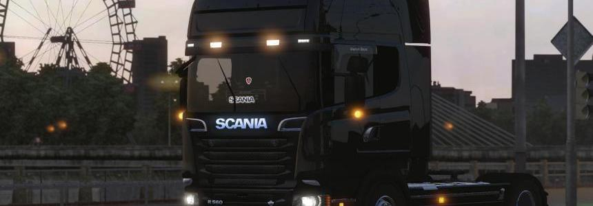 Black Devil Scania R560 Mod V1.0