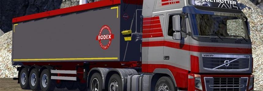 Bodex tipper trailer