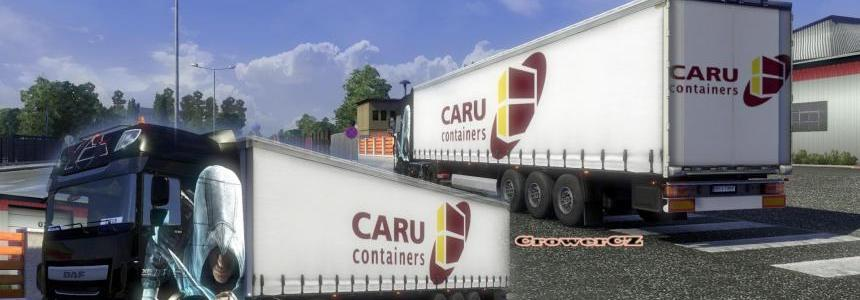 CAru Containers (White) Trailer