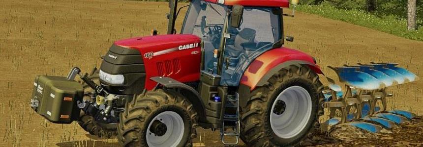 Case Puma 160 (mod plowing)