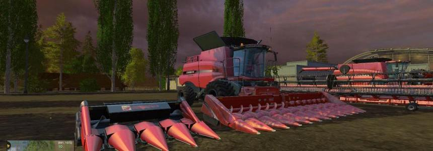 CaseIH Combine and Cutter Pack V1.3