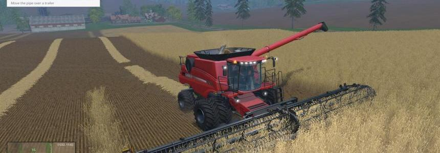 CaseIH9230 Dynamic front wheels Combine pack v1.0