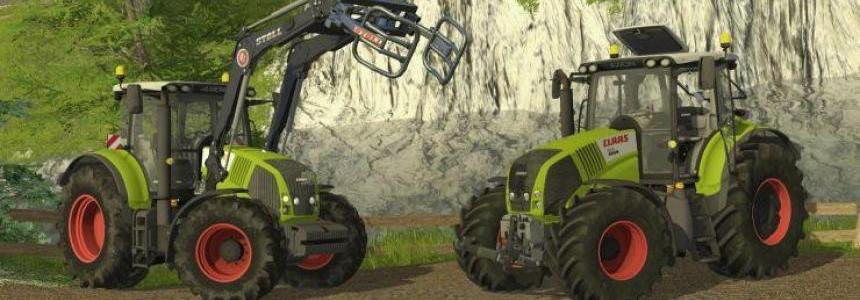 Claas Axion Pack