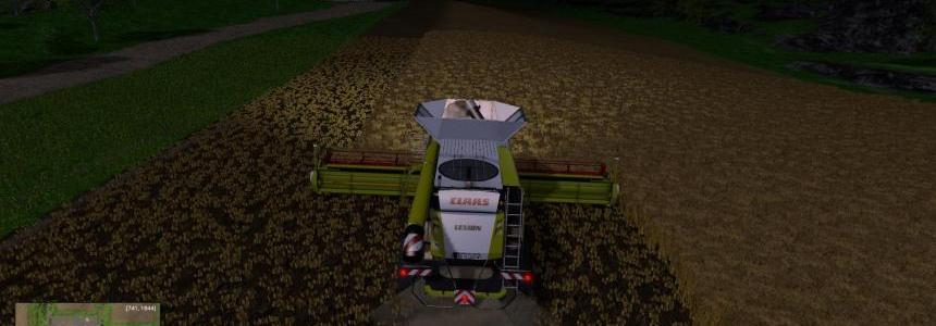 Claas Lexion 780 - 80000 Liters