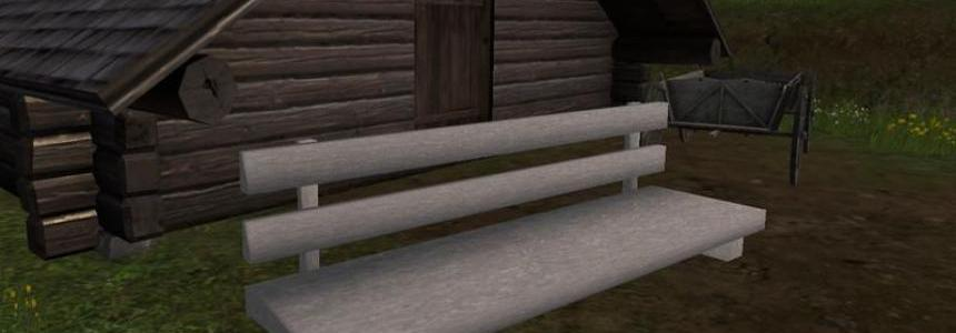 Concrete bench v1.0