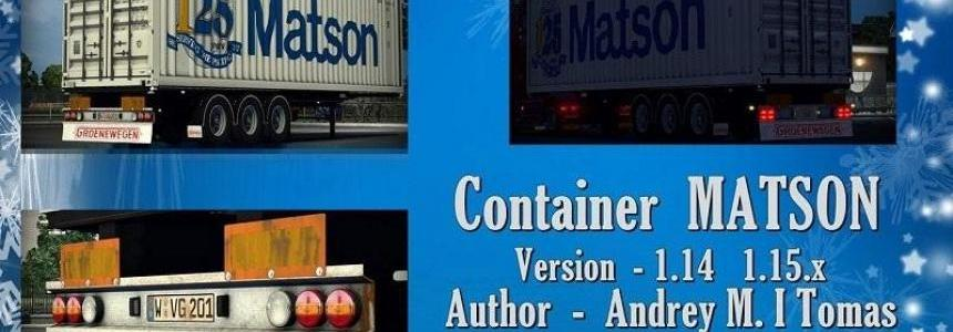 Container MATSON v1