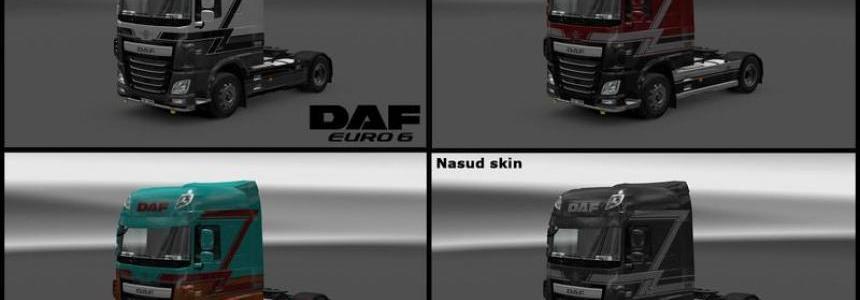 Daf euro 6 Nasud skin v1.0