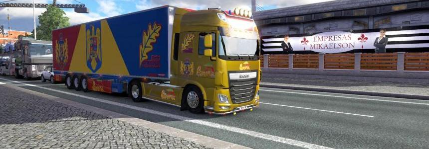 DAF XF Euro 6 Romania Metallic Paint Job