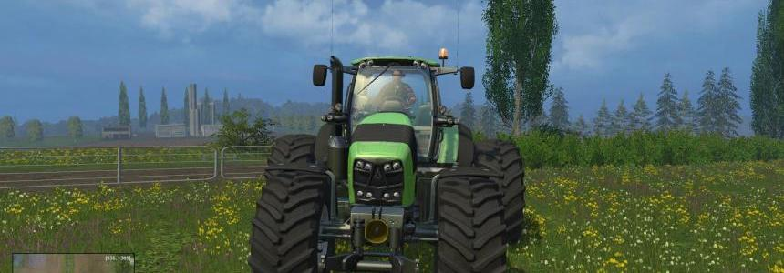 Deutz Fahr 7250 Dynamic Rear Twin Wheels v1.0