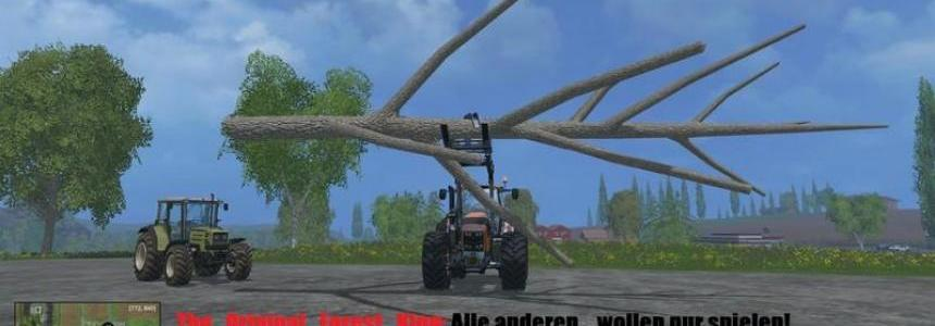 Deutz Fahr 7250 Forest King v2.0 Bundle